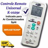 Controle Remoto Universal Ar Condicionado Split Brastemp