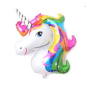 Globos Formas Unicornio Decoracion Para Fiestas Globos En Mercado - Globos-con-formas