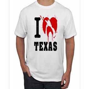 Playera Imitacion Piel Estilo Leather N2n020 Sexmentales. Distrito Federal  · Playera I Love Texas Masacre Texas Halloween Terror Leather 8f6af85a1ff31