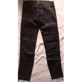 Pantalon Jean Elastiz Montesco Chupin Negro Talle 38, Impeca