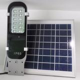 Lámpara Solar De Calle 12w Led