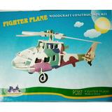 Rompecabezas 3d Para Construir Helicóptero