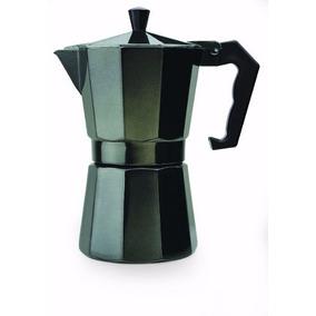 Epoca Stovetop Espresso 6cup Black - Cafetera