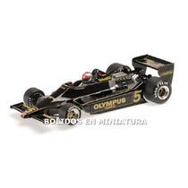 Lotus Ford 79 World Champion Andretti 1978 - Minichamps 1/18