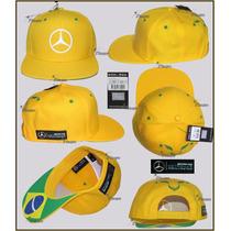Gorra Lewis Hamilton Brasil Mercedes Amg Petronas F1 2015