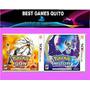 Pokemon Sun - Pokemon Moon Juego 3ds Fisico Nuevo Sellado