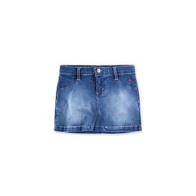 Saia Jeans Infantil Menina Hering Kids C6r3jelus