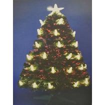 Arvore De Natal Fibra Otica Colorida 1,2m Cod. 1265