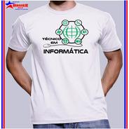 Camisa Camiseta Técnico Em Manutenção Suporte Em Informática