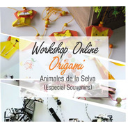 Taller Online Animales D La Selvasouvenirs Origami