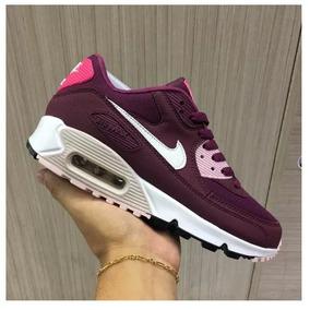 Sapato Feminino Nike Air Max 90 Total Qualidade Ao Cliente