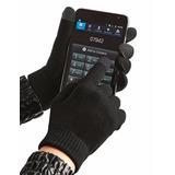 Luvas De Lã Touch Screen Celular Tablet Gps Iphone Multmidia