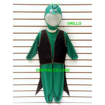 Disfraz De Grillo Grillito Cantor Disfraces Para Niños