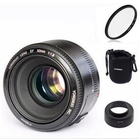 Lente Yongnuo 50mm F/1.8 Para Canon (kit) _ Dm