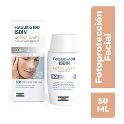 Isdin Fotoultra 100 Active Unify Spf 50+, 50 Ml