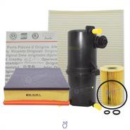Kit 4 Filtros Completo Vw Amarok 2.0 Original