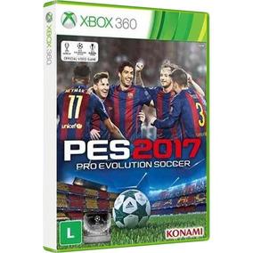 Pes 2017 (futebol) - Jogo Para O Xbox 360 Original - Lacrado
