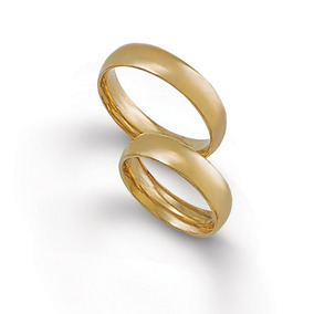 Anillos Matrimonio Oro 18k Cód. 349 ¡ El Par !