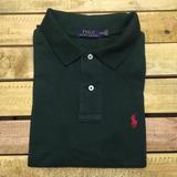 Camisa Polo Ralph Lauren Custom Fit Verde Musgo Promoção 9f3bdbe0de956