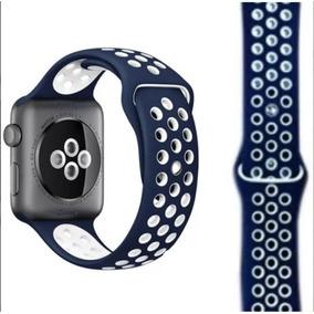 acdf817d5c6 Pulseira Apple Watch Azul Marinho - Relógios no Mercado Livre Brasil