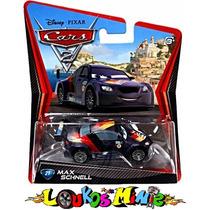 Disney Cars 2 Max Schnell #21 Lacrado Original Mattel