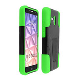 Alcatel One Touch Flint 4g Caja, Luckiefind Hybrid Dual Lay