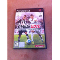 Pes-2012 Pro Evolution Soccer - Playstation 2 - Original