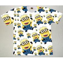 Camiseta Infantil Minions Estampada