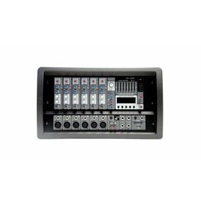 Consola Potenciada Audio Mixer American Pro M-256 Usb Dj