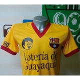 Camiseta Retro Barcelona Ecuador 1987 Vintage Bsc