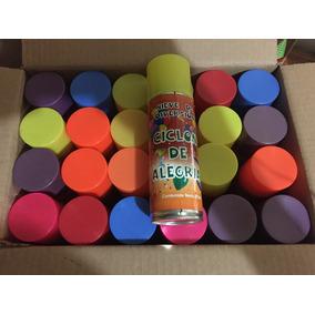 Espuma En Spray Caja Con 24pzs A Precio De Mayoreo