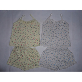 Lote 2 Pijamas Tam M Serve Aprox 3 Anos
