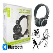 Fone De Ouvido Com Microfone Pc Headset Bluetooth Sem Fio
