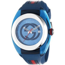 Reloj Gucci Lo Mas Nuevo 100% Original Sync Xxl Ya137104