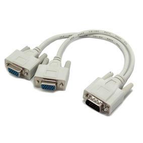 Cable Duplicador De Imagen Vga A Varias Salidas Vga