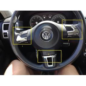 Apliques Volante Volkswagen Vw Bora Gol Voyage 3 Piezas