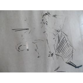 Pintura Taurina Tauromaquia Pintor Ricardo Marin El Gallo