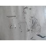 Pintura Taurina, Pintor Ricardo Marin, El Gallo, Tauromaquia