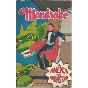 Mandrake Nº 193 Ano 1972 A Ameaça Dos Monstros Rge
