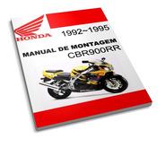 Honda Cbr900rr - Manual De Montagem