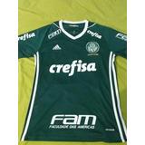 Camisa Palmeiras Obsessão Com Todos Os Patrocínios Tamanho P