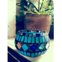 Fanales Velas Luminaria En Mosaico - Venecitas - Artesanales
