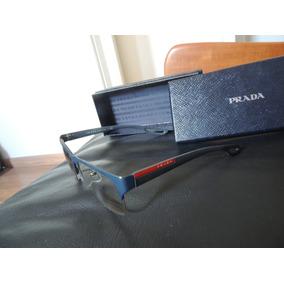 Óculos Prada Social 54l White!! Novo,na Caixa! Made In Usa - Óculos ... 259324f70a