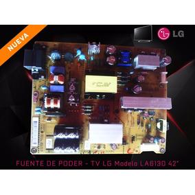 Fuente De Poder Tv Lg La6130 42