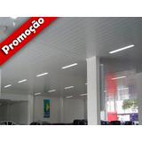Forro Pvc/plastico S/ou C/isolante Termico Colocado/instalad