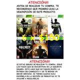 6 Juegos Para Xbox 360 Por $150