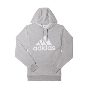 Buzo adidas Logo Hood Hombre Bq9054