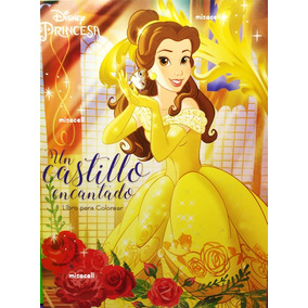 10 Libro Originales Para Colorear La Bella Y La Bestia :)