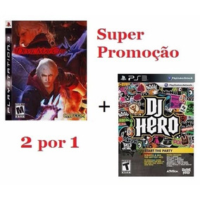 Jogo Devil May Cry 4 Ps3 + Dj Hero Ps3