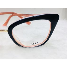 54b7a07d7 Óculos Dita Armação De Grau Modelos Gatinho Acetato -dt100 · R$ 135